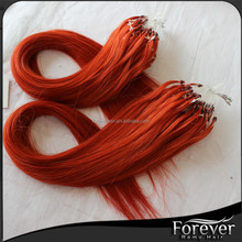 2016 new color #350 Top remy micro bead ombre hair extensions