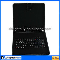 8 inch tablet computer keyboard covers with universal USB interface