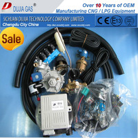 Safe Transaction ! OEM Complete LPG diesel dual fuel system conversion kit OMVL ecu