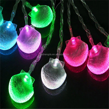 fairy Scallop in Shell christams decoration for Nativity, outdoor LED light string
