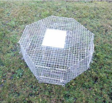 New Octagonal Magpie Trap Cage Birds Traps Cage For Sale Pest Control