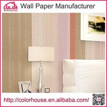 plain color pvc self-adhesive 3d mural wallpaper