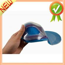 1 Pair Men Silicone Insoles for Shoes