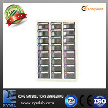 cheap 24 drawers plastic container wholesale storage system