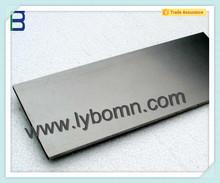 Henan factory heavy metal tungsten alloy cube/ superior quality wolfram tungsten block/ hot sale high quality tungsten ingot