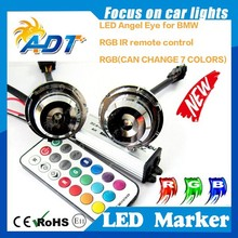 newest rgb led marker light for bmw E60 E61 X6 E71 must equip with factory Xenon Headlights