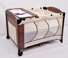 2015 hot sale folding baby bed with SGS