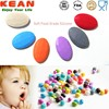 2015 Manufactures Bulk Food Grade BPA Silicone Round Rubber Beads