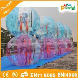 best quality amazing giant inflatable clear ball/inflatable human hamster ball/body bumper ball