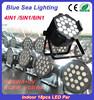 Wedding light RGBWA UV 18x18W LED Par Stage Light indoor led par light