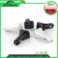 2015 newest top demand high speed four ports 6.8A usb car charger for toyota car