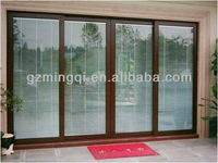 fire rated heavy duty glass sliding door