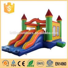Popular 1000ft slip n slide water inflatable castle