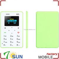 china alibaba M5 slim and small mobile phones