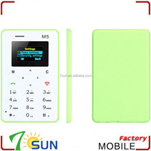 china alibaba M5 slim and small mobile phones