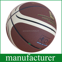 OEM Durable PU Soft Touch size7 Basketball for Training Customised Balls