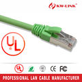 7 * 0.16 mm trenzado Cat5e Patch cable, 1 M UTP CCA Cat5e latiguillos