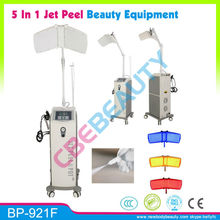 BP-921F HOT !!!!! Oxygen jet peel machine facial skin care oxygen bar equipment