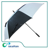 automatic double canopy sport golf umbrella