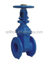 DIN 3352- F4 RISING STEM SOFT SEATED GATE VALVE SOCKET END