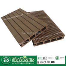 CE Certificated Anti-aging Solid Composite Decking WPC wood plastic composite 140*25mm