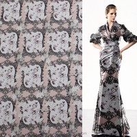 100% polyester digital print fabric made in china