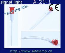 10mm dia. A-21-1 12v mini LED indicador se ilumina