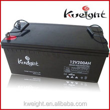 CE PASSED Deep Cycle battery 12v 200ah Solar Batteries