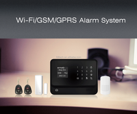 Download app google play store and apple Intelligent house automation alarm system with 8 relays free to control home appliances