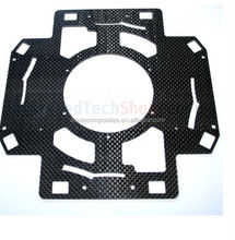 carbon fiber plate, used in aerial device gear,drone,RC car chassis by CNC cut