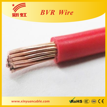 Different types of BVR electrical cable wire flexible wire with copper conductor