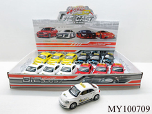 vw Model new alloy beetle taxi car with IC light (12pcs/box)