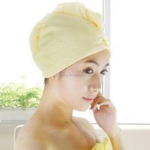 KLM-062 new summer light fabric customized design strong air permeability microfiber jacquard fabric bath shower cap