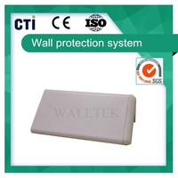 PVC plastic protective corner guard for medical center (PC-10)