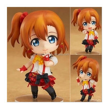 Wholesale 10cm PVC q version love live Kousaka Honoka Japanese cartoon characters 450#action figure