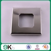 High quality stainless steel glass spigot square cover plate