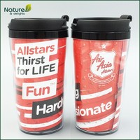 250ml Insulated Double Wall Plastic Starbucks Cup
