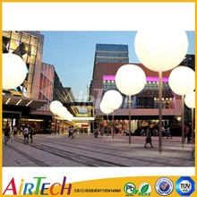 Decoration lighting balloon China Commercial led lighting balloon inflatable lighting for big event
