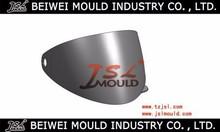 injection plastic motorcycle helmet visor molding