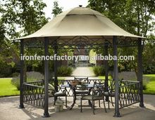 Professional cast iron gazebo with CE certificate