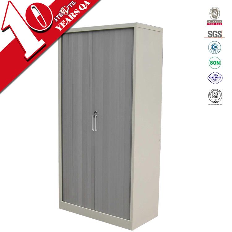 Tambour Door Custom Made Horizontal Kitchen Cabinet PVC Plastic Roller