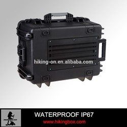 Hard PP Plastic Trolley Case with Wheels for Equipment