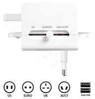 World+Travel+adapter+110v-250v+Ac+Power+Socket+Plug+Adaptor+with+5v+USB+Port+Power+Converter+Free+shipping