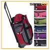 """21"""" Carry On Rolling Upright Duffel Bag, Travel Hotel Luggage Trolley"""