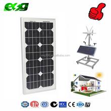 25W Transparent Thin Film Solar Mono Panel PV Panel