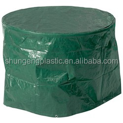 cheap and light poly tarps furniture cover and garden table machine custom waterproof cover