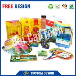 High definition low price custom design lenticular 3d plastic pictures