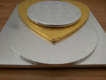 Customed Shape And Size Round Cake Boards Square Cake Boards