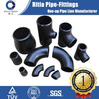 butt weld pipe fittings, carbon steel elbow, tee, reducer, cap, BW, A234 WPB, ASME B16.9