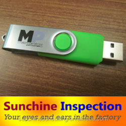 shenzhen usb flash drive /eletrical product inspection/ charger quality control